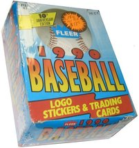 1990 Fleer Baseball Cards Box (36 packs/box, possible Sosa Rookie!) [Toy] - $32.99