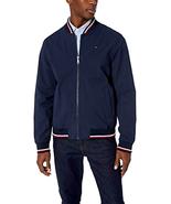 Tommy Hilfiger Men's Lightweight Varsity Rib Knit Bomber Jacket -Choose ... - $102.97+
