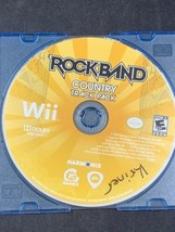 Rock Band: Country Track Pack (Nintendo Wii, 2009) DISC ONLY TESTED WORKS - $12.59