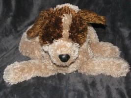 "Commonwealth Stuffed Plush Brown Tan Puppy Dog Beans 2005 16"" - $39.59"