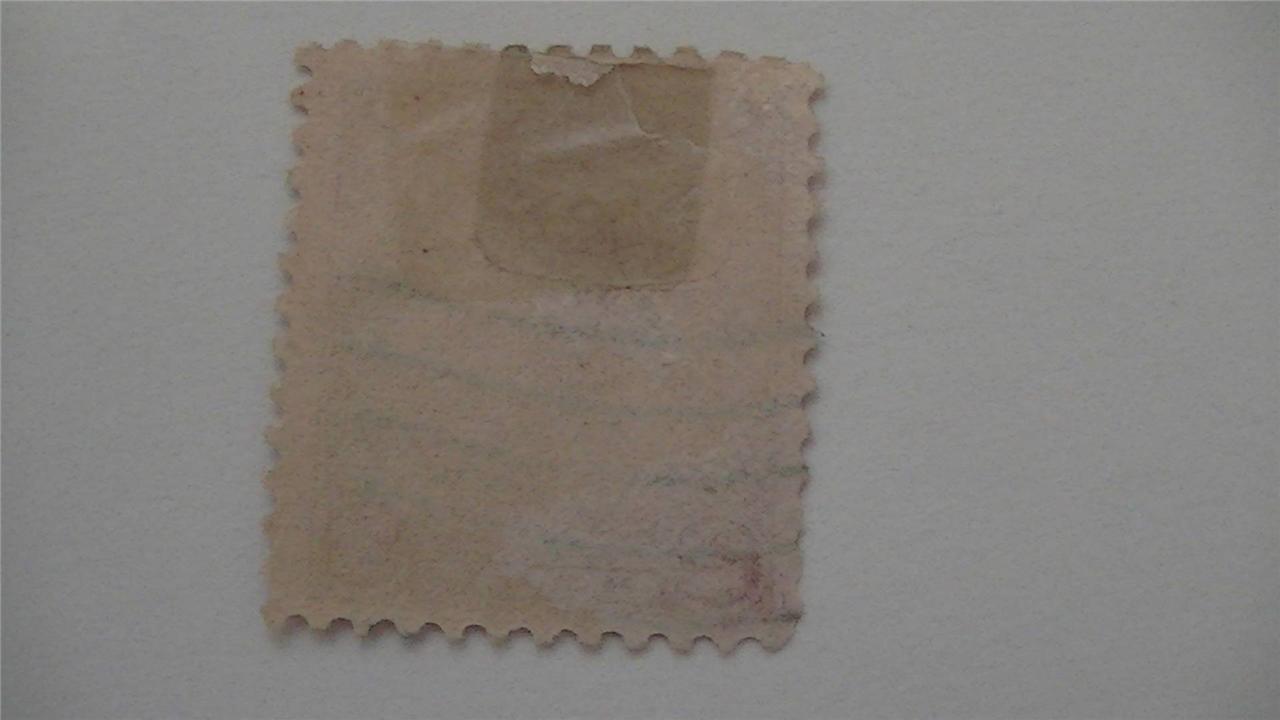 Old General Von Steuben Carmine USA Used 2 Cent Stamp
