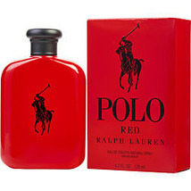 Polo Red By Ralph Lauren Edt Spray 4.2 Oz - $94.00