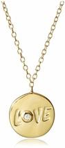 Argento Vivo 18KT Oro Vermiglio Sterling Cristallo Zirconia Cubica Love Collana