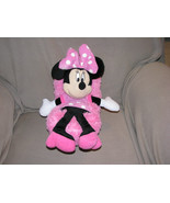 """JAY AT PLAY HIDEAWAY PETS BIG LARGE 15"""" DISNEY MINNIE MOUSE STUFFED PLUS... - $37.61"""