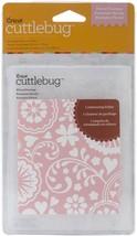 Provo Craft Cuttlebug Embossing Folder Floral Fantasy #37-1806