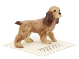 Hagen Renaker Miniature Dog Cocker Spaniel Papa Ceramic Figurine image 6