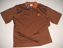 Texas Longhorns NCAA Big 12 University Co-op Burnt Orange Polo Shirt L N... - $39.59
