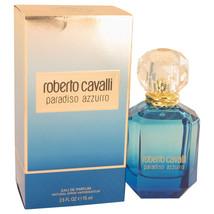 Roberto Cavalli Paradiso Azzurro 2.5 Oz Eau De Parfum Spray image 4