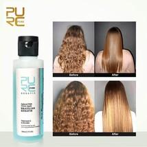 3.7% Keratin Treatment Apple Flavor Straightening Hair Repair Damage Frizz Hairs - $16.78