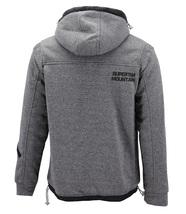 Boys Juniors Athletic Hoodie Sherpa Lined Kids Toddler Sweater Zipper Jacket image 3