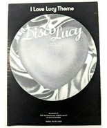 """I Love Lucy Theme """"Disco Lucy"""" 1953 Sheet Music Piano Vocals Guitar Vintage - $19.30"""