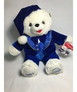 Dan Dee 2011 Snowflake Teddy Bear Blue Outfit Holiday Time 25th Anniversary - $29.69
