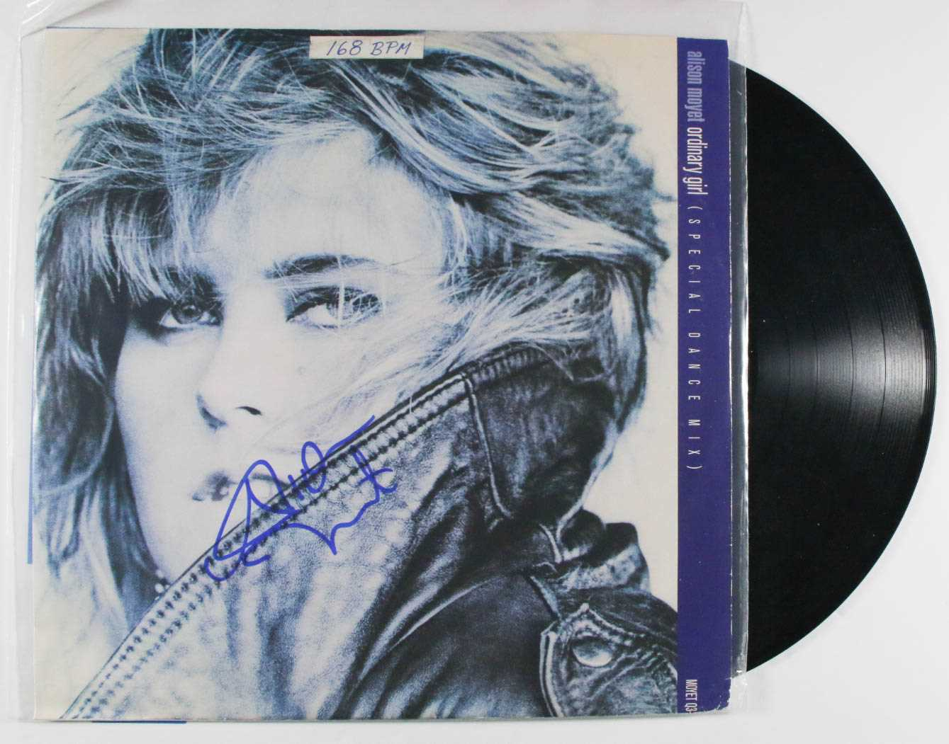 "Primary image for Alison Moyet Signed Autographed ""Ordinary Girl"" Record Album"