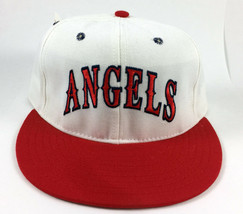 Angels Pro-Line ANNCO Vintage Baseball Hat Wool Pro Deadstock Halo Fitte... - $19.79