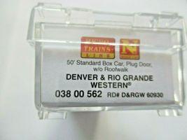 Micro-Trains # 03800562 Denver & Rio Grande Western 50' Standard Boxcar N-Scale image 5