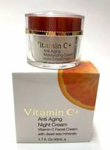 Spa Cosmetics Vitamin C+ Night Facial Cream w/ Dead Sea Minerals 1.7 oz - $21.26