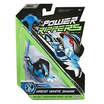 Power Rippers Single Pack - GREAT WHITE SHARK - SERIES 01 - $31.36
