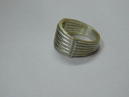 925 sterling Silver mount Ring, Round- 1.2 mm,RI-0256,ring,all size avai... - $16.00