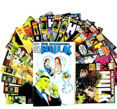 Incredible Hulk Comic Book Lot 17 Issues Marvel VF Man-Thing Cable Doc S... - $27.67