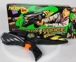 VTG Hasbro Nerf Max Force Mad Hornet 6 Foam Dart Gun 1997 - $32.49