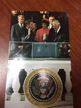 1977 Postcard ~Coral-Lee~ Walter Mondale Takes Oath As Vice President - $9.85