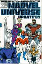 The Official Handbook of the Marvel Universe Update '89 #1 : From Adversary to C - $4.89