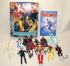 ToyBiz Marvel X-men Super Hero  Action Figure 2000's Lot Of 8 Toys and Case - $99.99