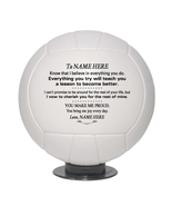 Personalized Mini Volleyball To My Daughter, Son, Granddaughter, Grandson - $34.95