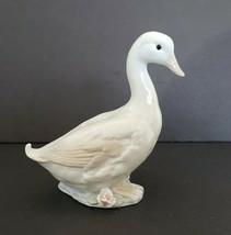 Vintage  ENESKO  porcelaine  goose figurine 1986  made in Taiwan - $9.49