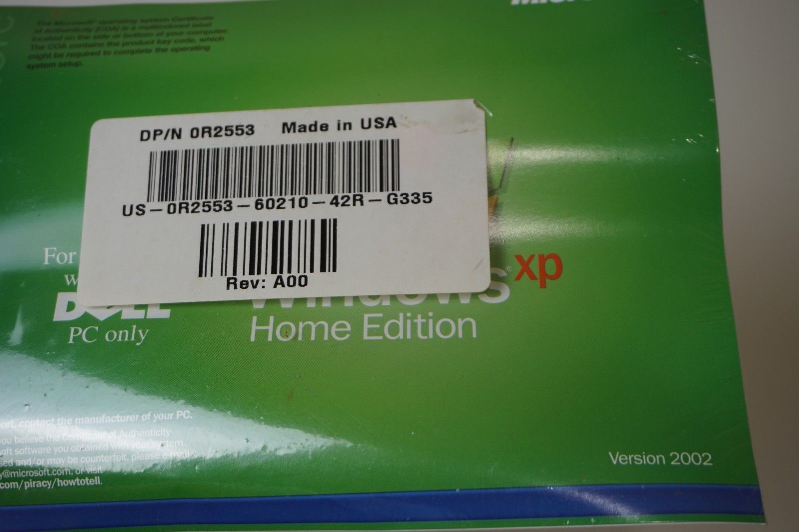 Sealed Windows XP Home Edition with Product and 38 similar items