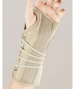 Soft Form Suede Finish Wrist Brace LARGE, LEFT,... - $13.80