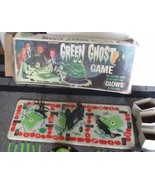 Vtg Halloween 1965 Transogram Green Ghost Glow in the Dark Game with Box... - $117.80