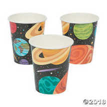 Space Party Paper Cups - $2.61