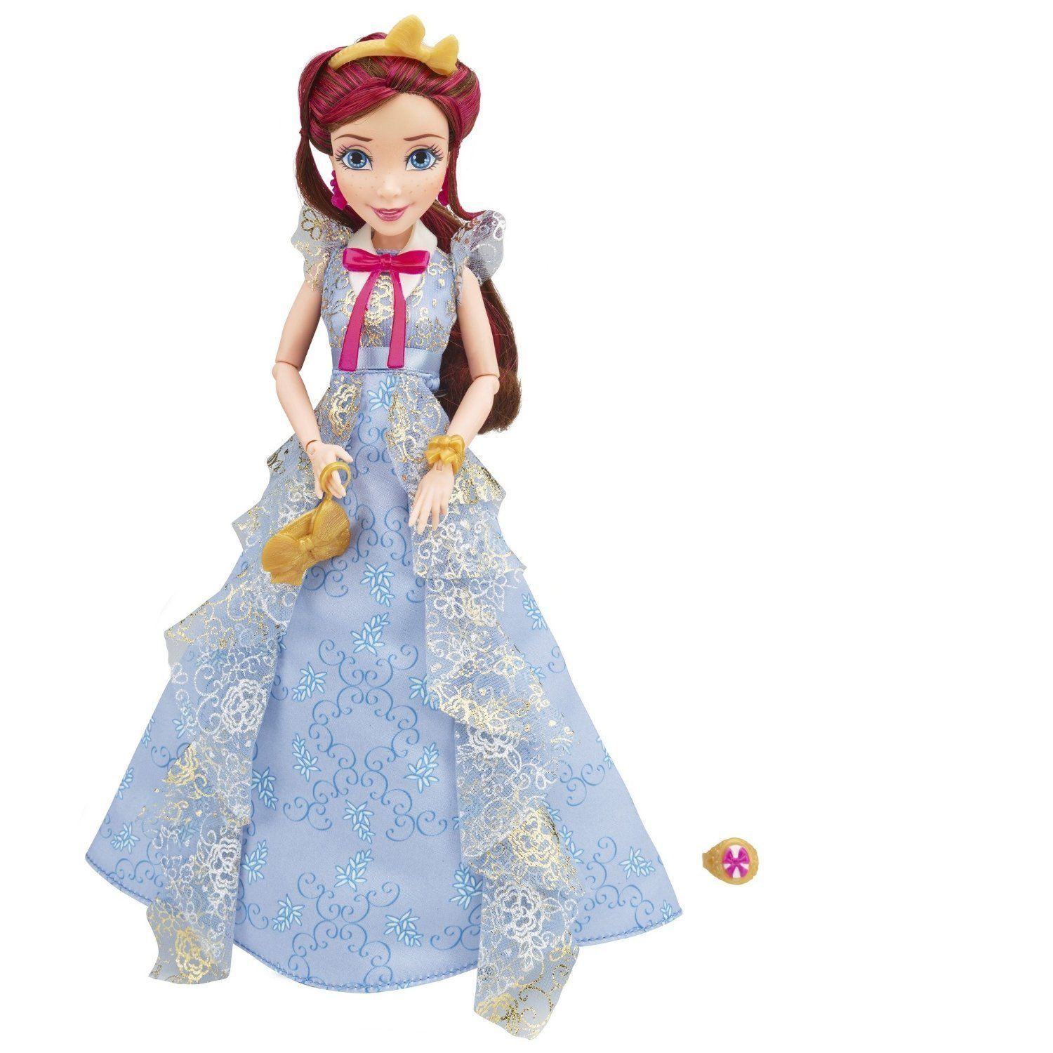 Disney Descendants Coronation Jane Auradon Prep Doll in Blue Gown, Hasbro, 6+