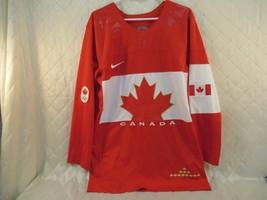 Canadian Olympics Nike Jersey Red and White Canada Hockey Size Medium 2014 - $32.91
