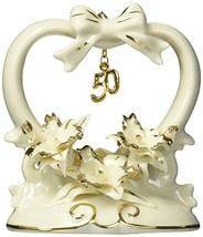 Appletree Design 50th Anniversary Orchid Cake Topper, 4-1/2-Inch Tall - $19.92