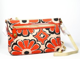 Coach Poppy Bag Floral Scarf Print East West Swingpack 49769 Cross-body  - $79.98