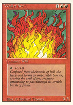 Magic: The Gathering 3rd Edition - Wall of Fire - $0.99