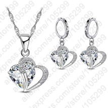 New Design Wholesale Statement Women 925 Sterling Silver Color Jewelry With Cubi - $13.86