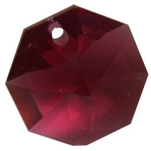 Crystal Octagon Earrings image 4