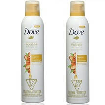 2 New Dove Body Wash Mousse With Argan Oil Concentrated Formula 10.3 oz ... - $19.79