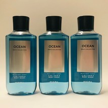 3 Bath & Body Works Ocean Men's Collection 2 in 1 Hair Body Wash 10 oz F... - $37.11