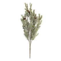 Darice Christmas Pine and Hemlock Bush: Green, 8 x 24 inches w - $14.99