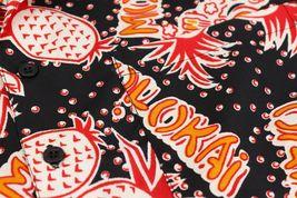 Men's Casual Tropical Hawaiian Luau Aloha Revere Beach Button Up Dress Shirt image 9