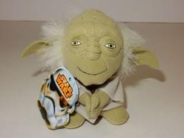"Disney Star Wars: Episode VII The Force Awakens 4"" Yoda Mini Plush w/Tags - $6.79"