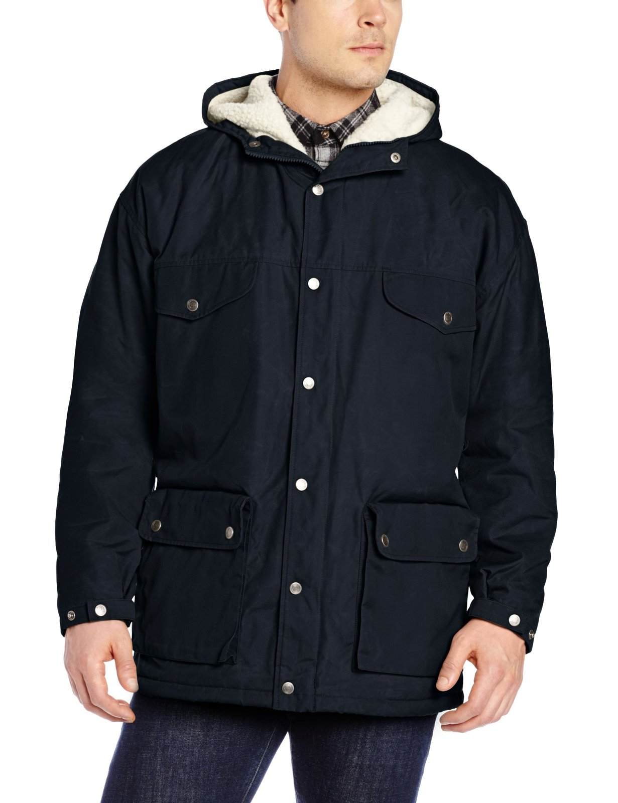 Fjallraven Men's Greenland Winter Jacket, X-Small, Dark Navy