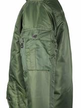 MJC USA Men's Long Oversized Curved Hem Parka Streetwear Bomber Jacket - XL image 4