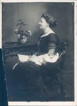 1918 Photo Sister Lord Haldane Elizabeth Author Biographer Philosopher 5x7 - $23.23