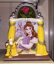 Disney Parks Beauty And The Beast Princess Bell Resin 3-D Picture Photo Frame - $37.98