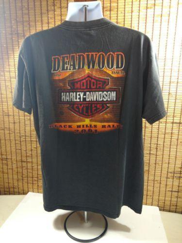 Sturgis Harley Davidson T Shirt Cotton Black Hills 01 Biker Motorcycle Mens XL  image 3